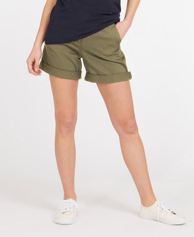 Barbour Essential Khaki Shorts