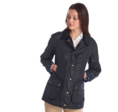 Barbour Eleanor Wax With Emma Bridgewater Lining