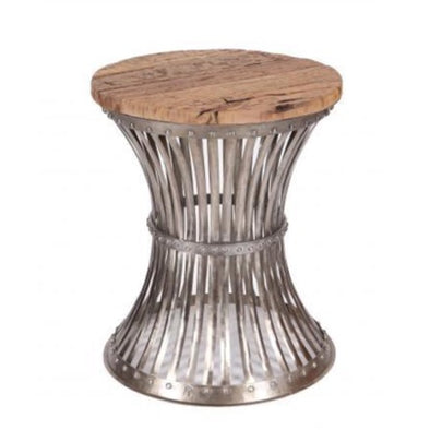 BESPOAK Caged Round Metal Side Table