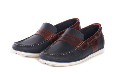 Barbour Keel Boat Navy Shoes