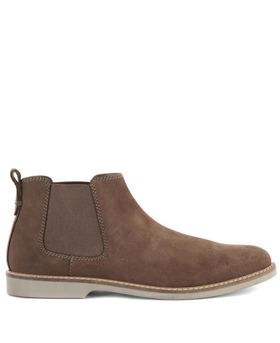 Barbour Taupe Sedgefiled Chelsea Boots