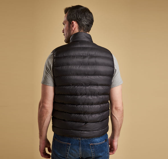 Barbour Black Bretby Gilet