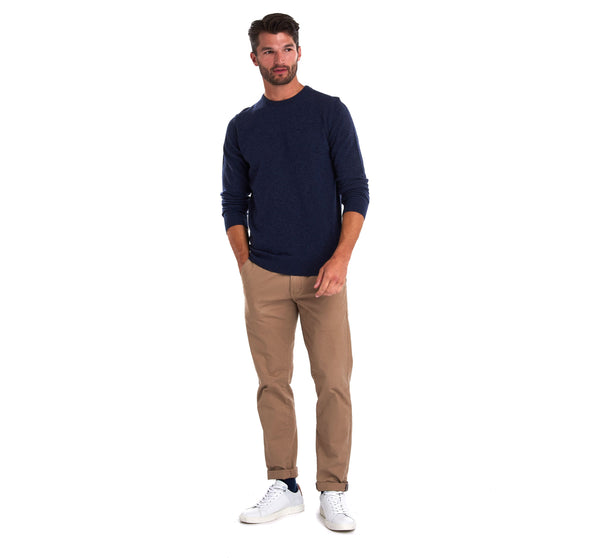 Barbour Essential Lambswool Indigo Jumper