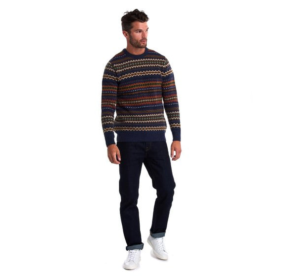 Barbour Fairisle Crew Neck Jumper