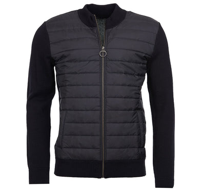 Barbour Carn Baffle Zip Through Sweater