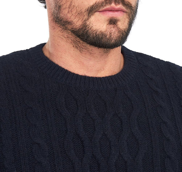 Barbour Chunky Cable Crew Neck Jumper