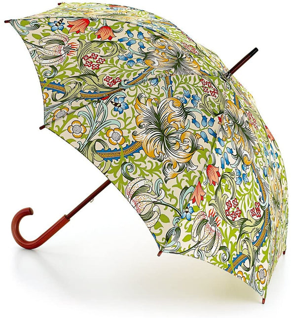 Morris & Co By Fulton Golden Lily Womens Walking Umbrella