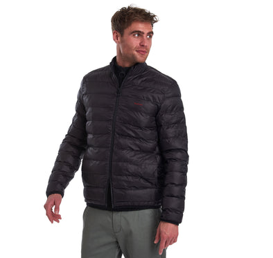 Barbour Penton Black Quilted Jacket