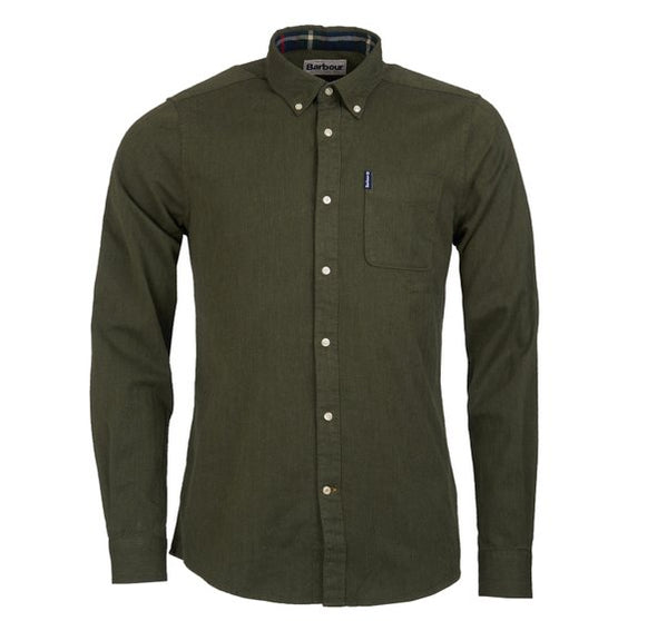 Barbour Herringbone 1 Tailored Fit Shirt