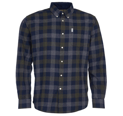 Barbour Westoe Shirt in Navy