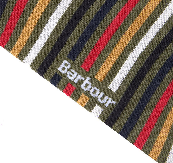 Barbour Tartan Stripe Socks