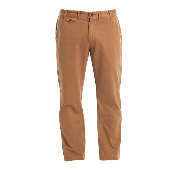 Barbour Nauston Twill Trousers in Sand