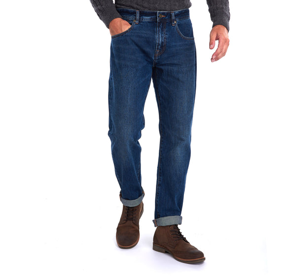 Barbour Regular Fit Jeans