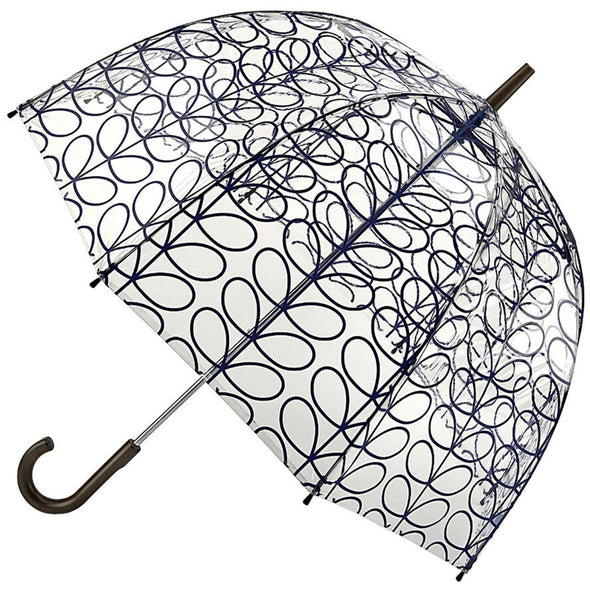 Orla Kiely Transparent Birdcage Umbrella