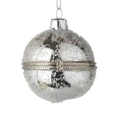 HEAVEN SENDS - Silver Casket Bauble