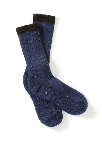 Peregrine Men's Boot Socks - Navy