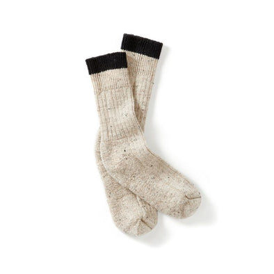 Peregrine Men's Boot Socks - Cream