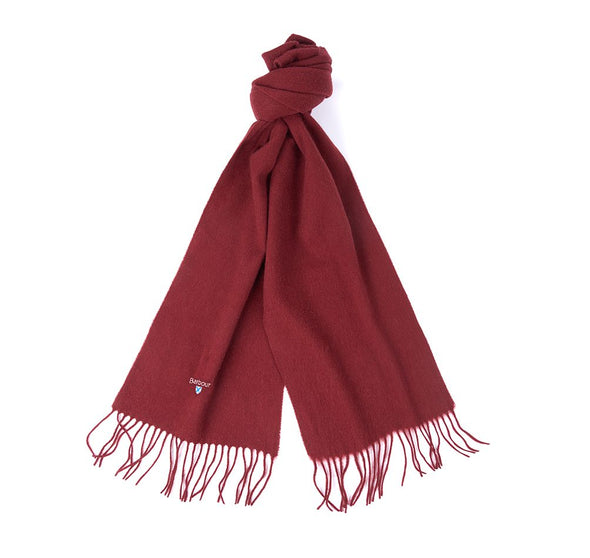 Barbour Plain Lambswool Cinnamon Scarf