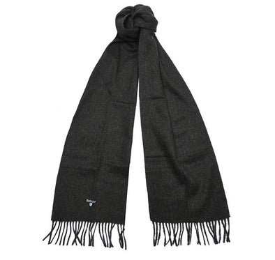 Barbour Plain Lambswool Seaweed Scarf