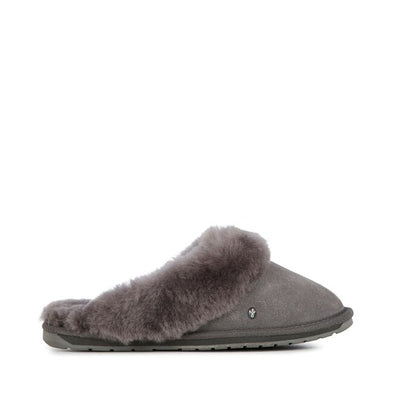 Emu Australia Jolie Slippers in Anthracite