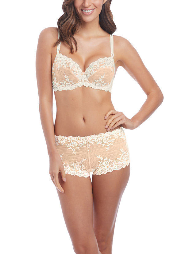 Wacoal Embrace Lace Naturally Nude / Ivory Underwired Bra