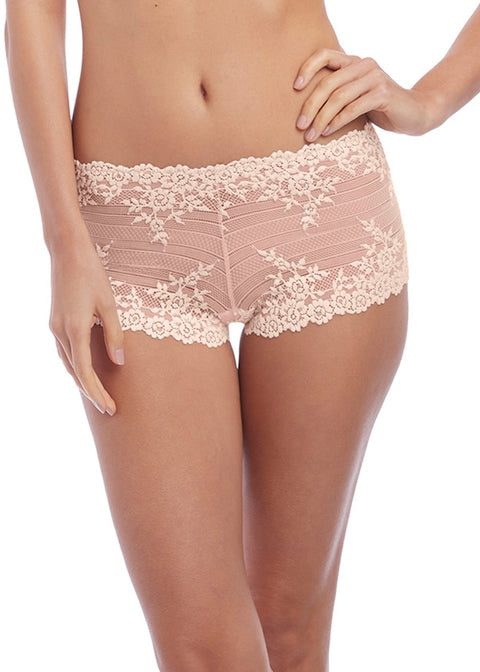 Wacoal Embrace Lace Woodrose Boyshort