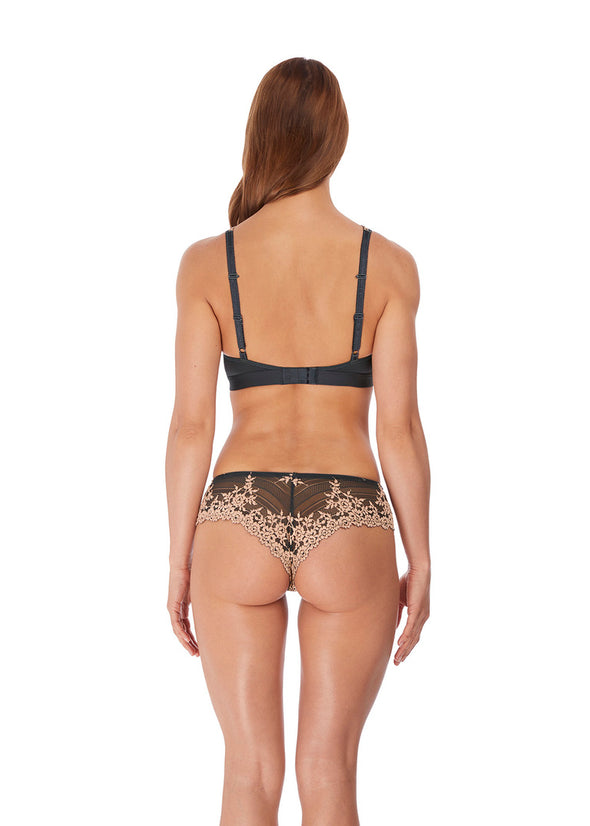 Wacoal Embrace Lace Ebony / Shifting Sand Soft Cup Non-Wired Bra