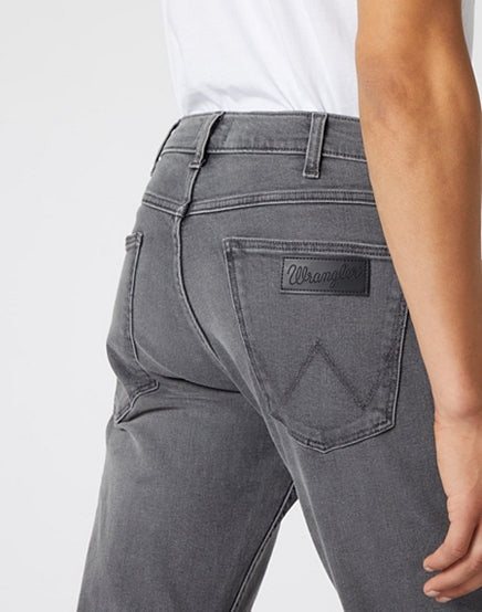Wrangler Greensboro Regular Straight Grey Jeans