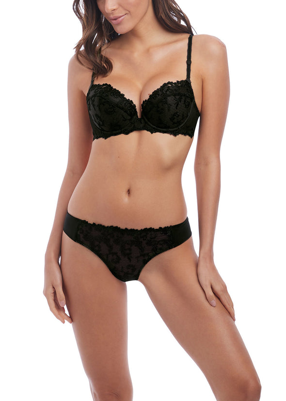 Wacoal Decadence Push Up Black Bra