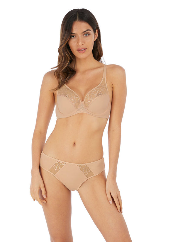 Wacoal Lisse Natural Underwired Bra