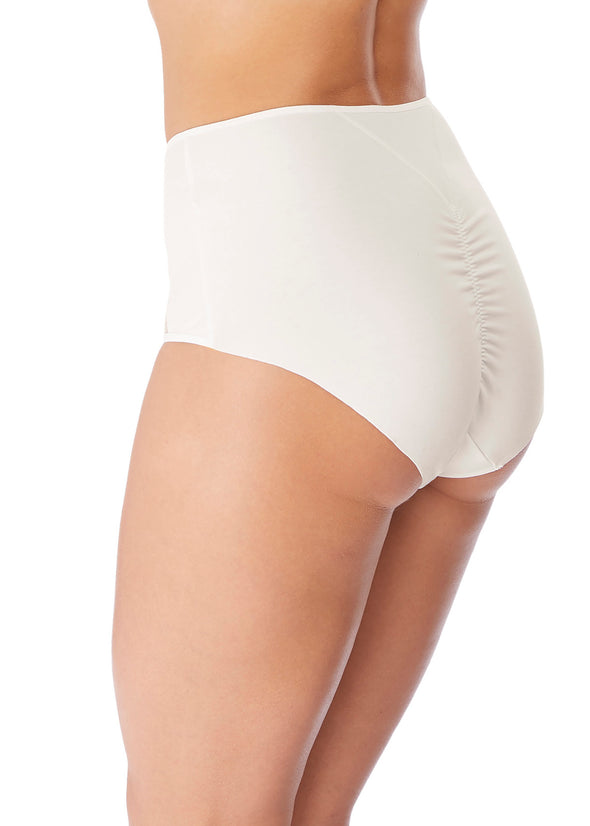 Wacoal Lisse White Full Briefs
