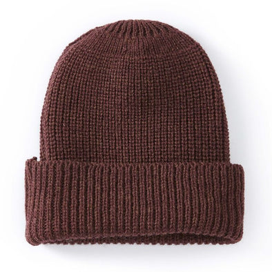 Peregrine Men's Porter Ribbed Beanie - Shiraz