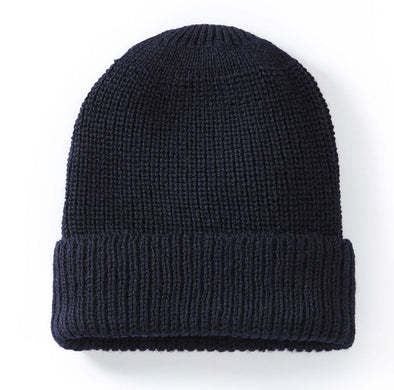 Peregrine Men's Porter Ribbed Beanie - Navy