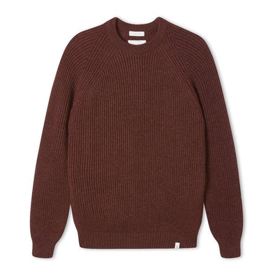 Peregrine Men's Ford Crew Jumper - Shiraz
