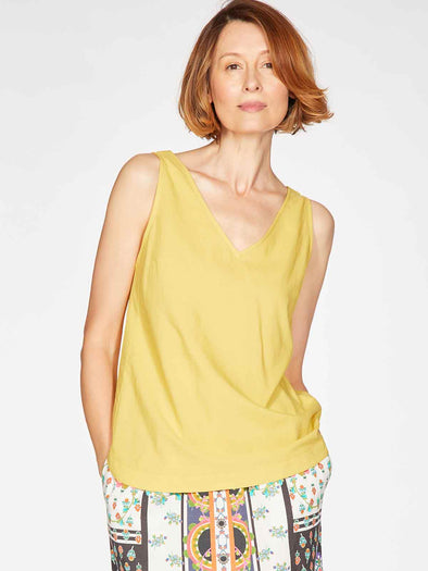 Thought Imogen Yellow Cami Top