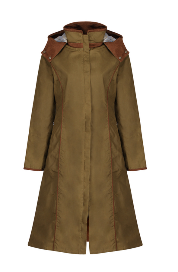 Welligogs Eleanor Khaki Waterproof Coat