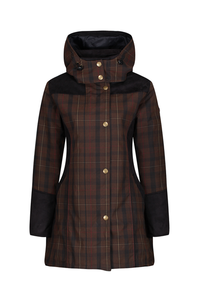 Welligogs Odette Checked Coat