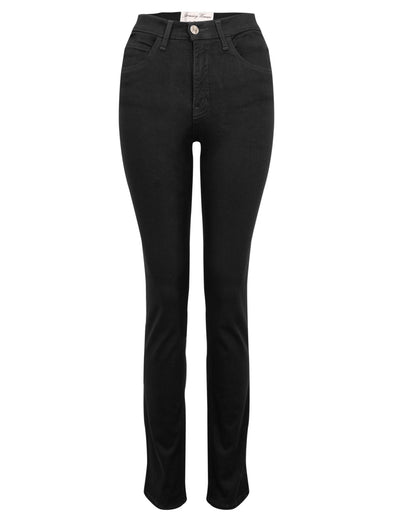 Amazing Woman Black Slim Leg Jeans