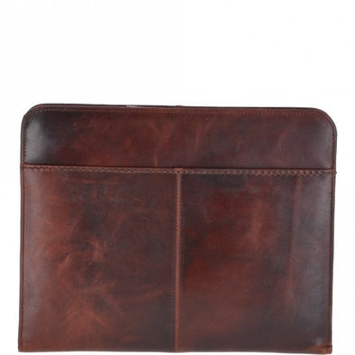 Ashwood Noah Vintage Tan Leather Folder