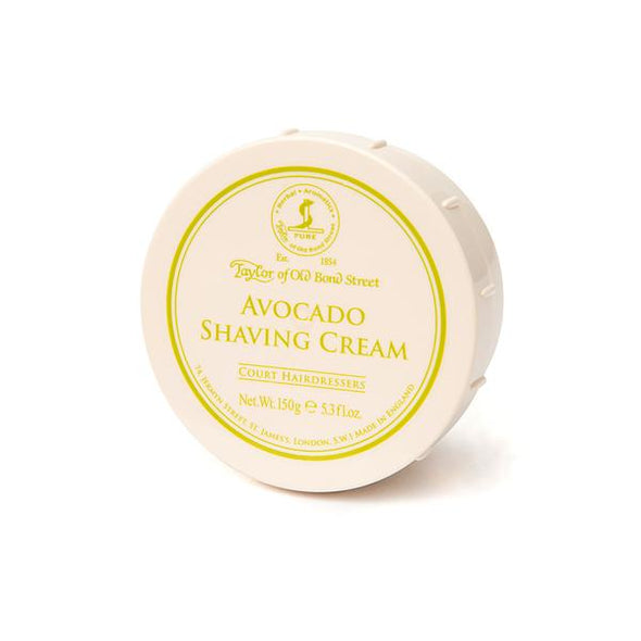 Taylor Of Old Bond Street Avocado Shaving Cream Bowl 150g