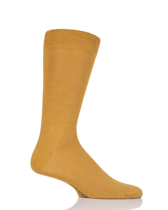 1 Pair Sockshop Mellow Yellow Bamboo Rainbow Socks