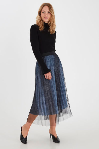B Young Byrinka Blue Skirt