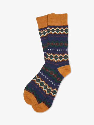 Barbour Caistown Fairisle Socks