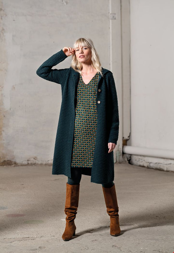 Zilch Long Forest Cardigan