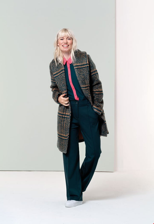 Zilch Tweed Forest Coat