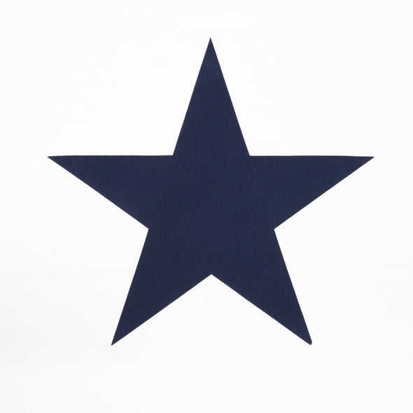 Chalk Darcey White Jersey Top With Navy Star