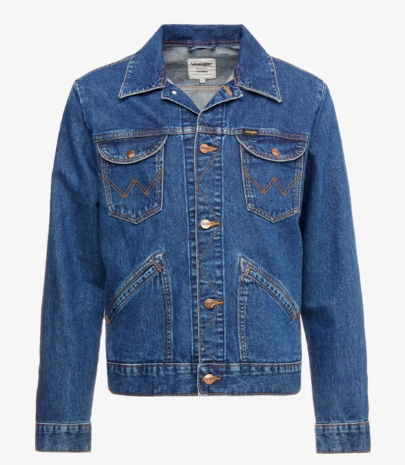 Wrangler Authentic Western Denim Jacket 6 Months 124MG