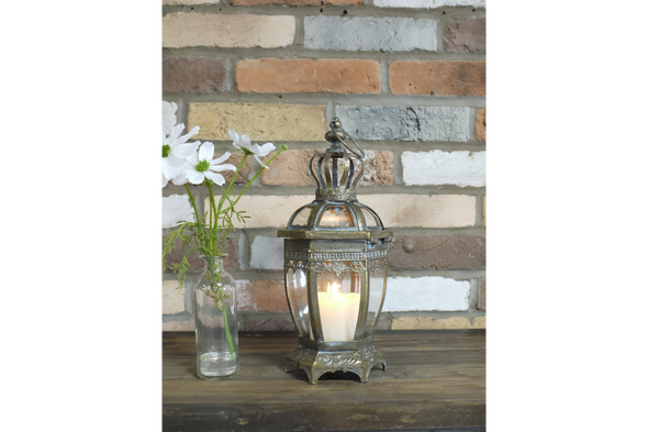 Dutch Imports Bronze Lantern