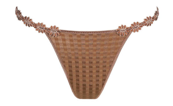 Marie Jo Avero Bronze Thong Briefs