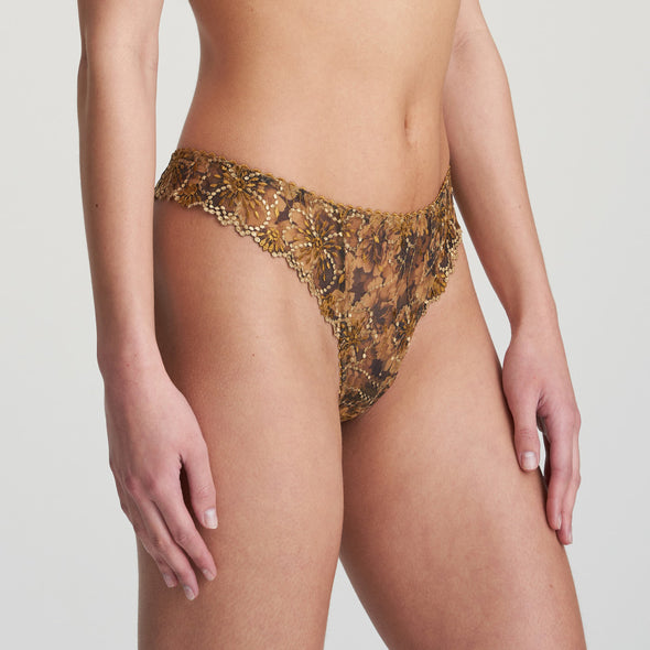 Marie Jo Jane Gold Thong
